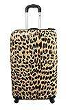 Koffer, Reisegepäck, Trolley by Heys - Premium Designer Hartschalen Koffer - Novus Art Leopard...