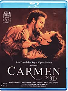 Georges Bizet - Carmen in 3D [3D Blu-ray]