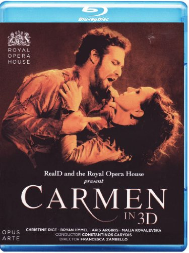 Bizet: Carmen [Blu-ray 3D] (Surround 3d-dvd,)