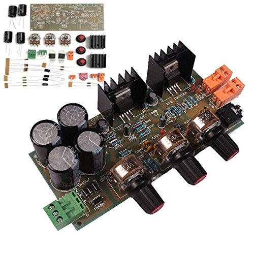 LaDicha Tda2030A 2,0 Amplificador De Audio Placa De Módulo 18W * 2 Doble Pista Diy Kit