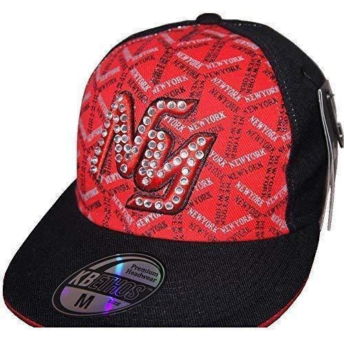 KBETHOS - Casquette de Baseball - Homme Multicolore Rouge/noir