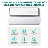 Mr.You Deflettore condizionatore & Aria condizionata Vento deflettore