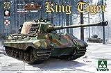 TAKOM 2073 - Modellbausatz WWII German Heavy Tank SD.Kfz.182 King Tiger Henschel Turret mit Interior