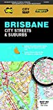 Brisbane City Streets & Suburbs Map 462 (waterproof)