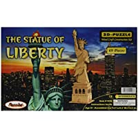 Comparador de precios Puzzled, Inc. 3D Natural Wood Puzzle - The Statue of Liberty by Puzzled, Inc. - precios baratos