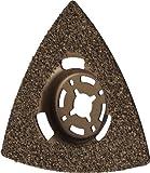 Herkules Delta Hartmetall Schleifplatte abgekröpft 80x80x80 für Fliesenkleber,Beton, Stein und Holz M5530