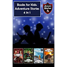 Books for Kids: Children's Diaries with Action and Adventure (Kids' Adventure Stories 4 in 1) (English Edition)