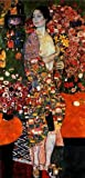 GFM Painting Handgemalte Ölgemälde Reproduktion von Die Tanzerin (The Dancer) 1916-18,Ölgemälde von Gustav Klimt - 72 By 96 inches