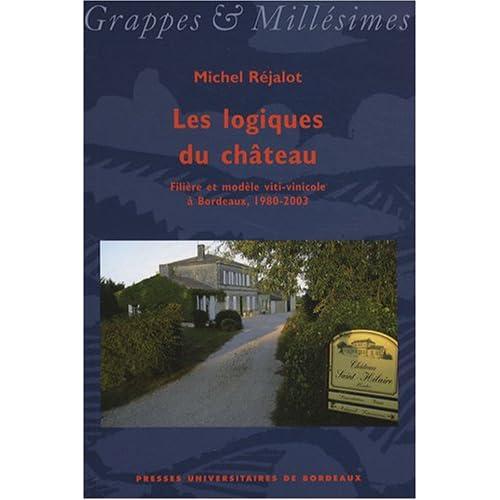 Les logiques du château : Filière et modèle viti-vinicole à Bordeaux, 1980-2003