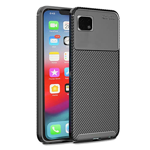 Obamono Case for iPhone Xis Max 6.5 Inch, All Sides Protection with Anti Dust Shockproof Slim Back Case Cover with Backcase Excellent for iPhone Xis Max 6.5 Inch, Black Iphone Micro Grip