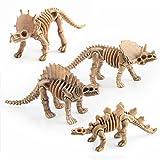 TOYMYTOY-12pcs-Dinosaure-Jouet-Ensemble-Dinosaure-Squelette-Modles-Chiffres-Jouets-Cadeaux-pour-Enfants