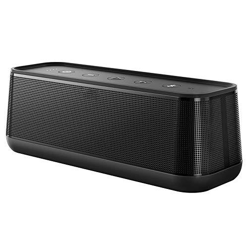 feicahnghao Speaker drahtlose Bluetooth-Lautsprecher Metall Mini tragbare Subwoof-Sound mit Mic TF-Karte FM-Radio AUX MP3 Musik Spielen Lautsprecher, grau