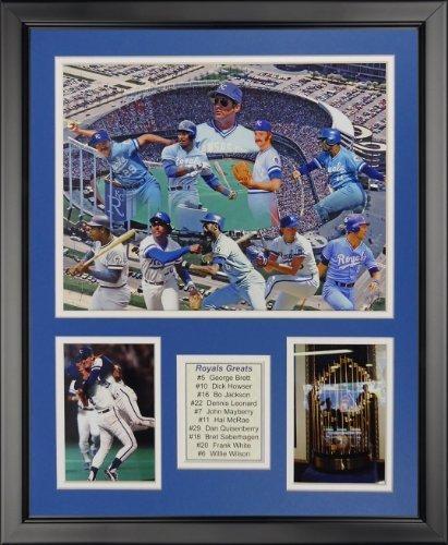 Legenden Sterben Nie Kansas City Royals-Größen gerahmtes Foto Collage, 40,6x 50,8cm von Legends Never Die