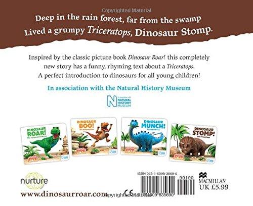 Image of Dinosaur Stomp! The Triceratops (The World of Dinosaur Roar!)