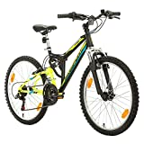 Best Dual Suspension Mountain Bikes - Bikesport PARALLAX Dual Suspension Mountain bike 24 Inch Review
