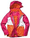 CRIVIT® SPORTS Mädchen Snowboardjacke, Gr. 158/164 (Orange / Pink / Weiß)