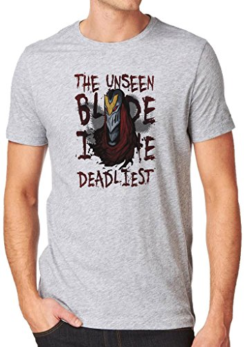 League of Legends Zed Deadliest Blade Shirt Custom Made T-shirt (L)