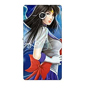 Sweet Angel Back Case Cover for Sony Xperia SP