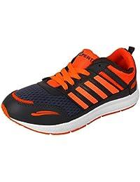 Earton Men Orange Sports Running Shoes