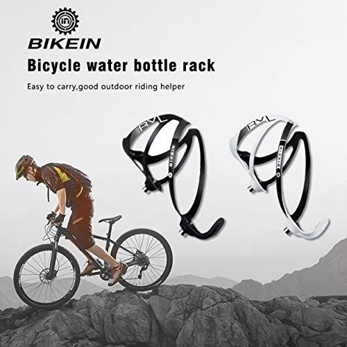 Lorenlli Fit BIKEIN A01BH Portaborraccia per Biciclette Portabici ad Alta Resistenza Portabottiglie Portabicchieri in Fibra di Carbonio Accessori per Mountain Bike
