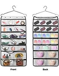 LemonBest ® 42 porte Pocket Hanging Bijoux stockage Organisateur avec crochet pour la maison et Voyage