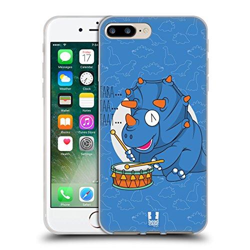 Head Case Designs Urbano Camou Digitale Cover Morbida In Gel Per Apple iPhone 7 Plus / 8 Plus Tricero Taps