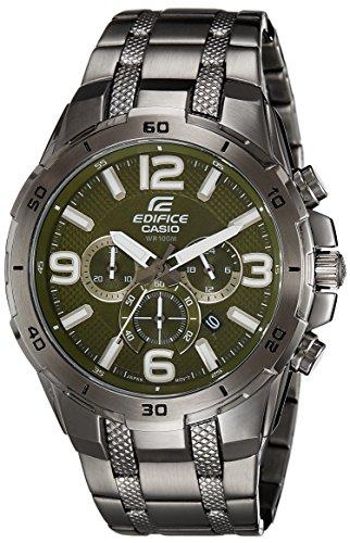 515KZS7qbJL - Casio Edifice EFR 538BK 3AVUDF EX180 Mens watch