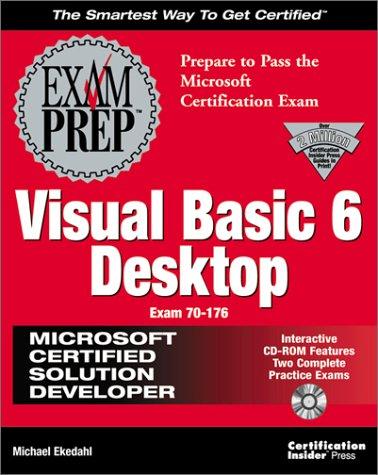 MCSD Visual Basic 5 Exam Cram (Exam Prep (Coriolis' Certification Insider Press))