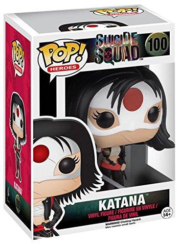 Funko Pop Katana (Escuadrón Suicida 100) Funko Pop Escuadrón Suicida