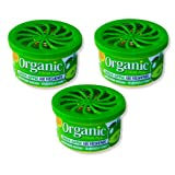 3 Dosen Organic Can Duftdose Autoduft - Apfel green apple
