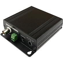 Cablematic - Extensor ethernet TCP/IP y alimentación por cable coaxial RG6U RG59U