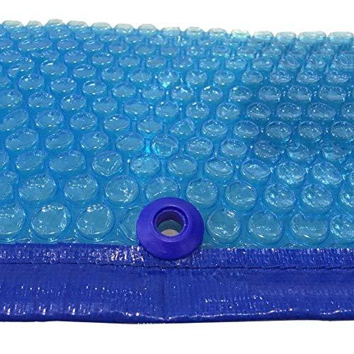 Solarplane Schwimmbadabdeckung, Heizdecke Für Boden- Und Aufstellheizungen Nach Maß, Blue Edge Punching Persenning (Size : 2x3m) (Edge Blue)