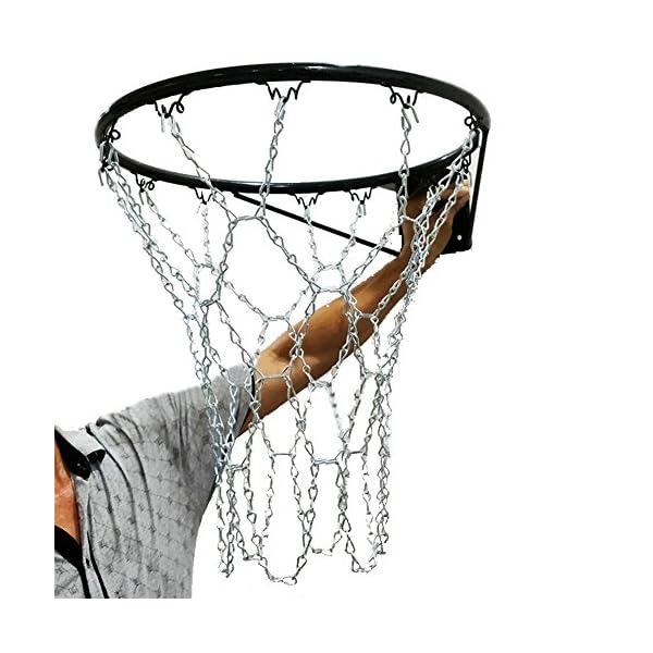 Filet de basket de cha/înes en acier zingu/é