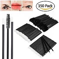 Molain Desechable Kits de Maquillaje Brocha para Labio Cepillo para Pestaña y Ceja Delineador de Ojo 3 x 50PCS
