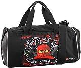 Sporttasche mit Nassfach, Reisetasche für Kinder, Schulsporttasche mit Lego Ninjago Motiv Sporttasch
