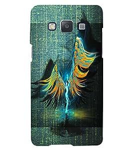 PrintVisa Modern Art Angel 3D Hard Polycarbonate Designer Back Case Cover for Samsung Galaxy A3