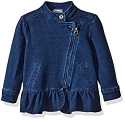 Splendid Girls Indigo Denim Jacket, Dark Stone, 18-24 Months