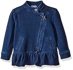 Splendid Girls Indigo Denim Jacket, Dark Stone, 18-24 Months