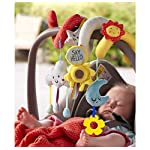 Wadila Car Seat Toy Baby Pram Stroller Toys Spiral Activity Hanging Cot Toys for Baby Boys Girls 5