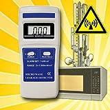 Elektrosmogmessgerät Mikrowellenstrahlung Mikrowellen-Strahlungsmessgerät elektrische/magnetische Felder Radar Fernseher 2.4GHz Band ISM ES3