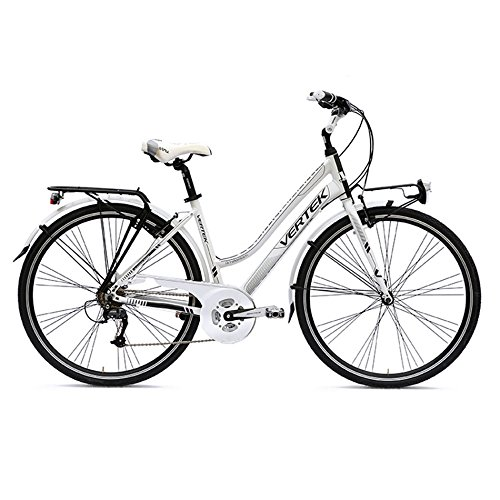 VERTEK BICICLETA PARA MUJER AMSTERDAM 28 7 VELOCITABLANCO PERLA 44 CM (CITY)/BICYCLE WOMAN AMSTERDAM 28 7 SPEED WHITE PEARL (CITY) 44 CM