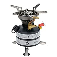 tenty.co.uk BRS-12A One-Piece Multi-fuel Camp Stoves for Cookout BBQ Camping Fishing Picnic 2-3 Field Operations
