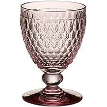 Villeroy & Boch Boston Coloured Acqua Calice, Cristallo, Rosa