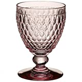Villeroy & Boch Boston Coloured Agua Copa, Cristal, Rosa