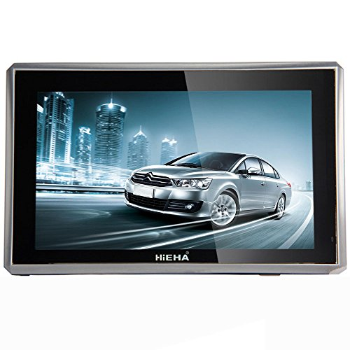 """515KgVaDA1L - BEST BUY #1 Hieha 5"""" Inch Car GPS Sat Nav SpeedCam MP3 with Lifetime EU UK Maps Updates 128MB 8GB Reviews and price compare uk"""