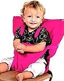 SheShy Baby Sack Portable Original Hochstuhl Sicherheits Sitz Kinder Stuhl Harness Travel Sitzbezug (Rose Rot)