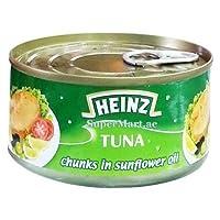Heinz tuna Chunks In Sunflower Oil 185g