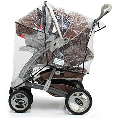 Baby Travel Travel System Raincover To Fit - Joie Litetrax (Heavy Duty, High Quality)