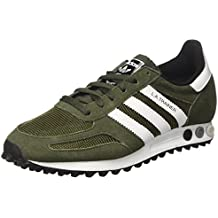 lowest price 1f26c a42b8 adidas La Trainer Men Sneaker a Collo Basso Unisex – Adulto
