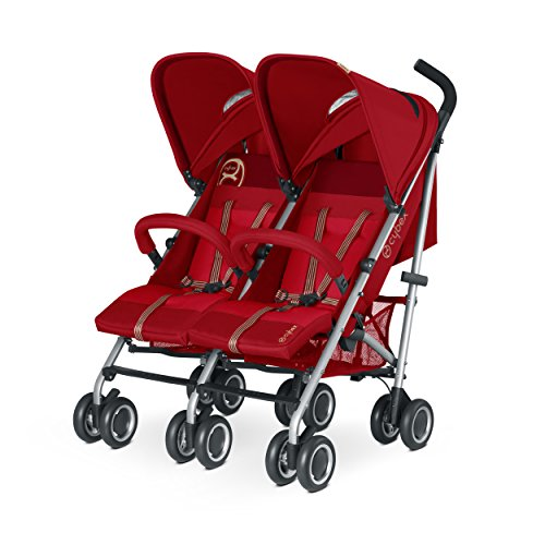 CYBEX GOLD Twinyx, Zwillingsbuggy, Kollektion 2015, Hot & Spicy